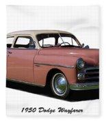 1950 Dodge Wayfarer 2 Door Sedan Fleece Blanket