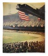 1950 Phillies Vs Yankees World Series Guide Fleece Blanket