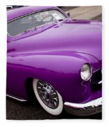 1950 Purple Mercury Fleece Blanket
