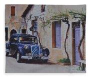 1951's Citroen Fleece Blanket