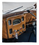 1952 Triumph Renown Limosine Instrument Panel Fleece Blanket