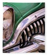 1953 Buick Chrome Fleece Blanket