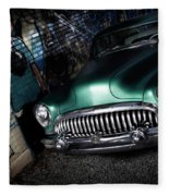 1953 Buick Roadmaster Fleece Blanket