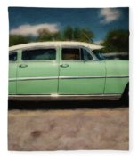 1953 Hudson Hornet Fleece Blanket