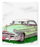1953 Pontiac Chieftain Catalina H.t. Fleece Blanket
