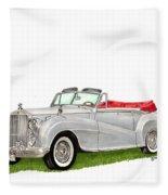 Rolls Royce Silver Dawn 1953 Fleece Blanket