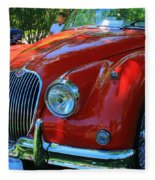 1953 Xk 150 Jaguar Fleece Blanket