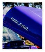 1954 Ford F100 Fleece Blanket
