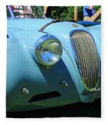 1954 Jaguar Xk Fleece Blanket
