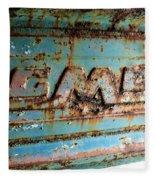 1955 Gmc Truck Tailgate Fleece Blanket