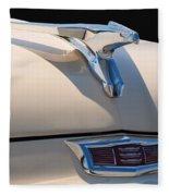 1956 Chrysler Soaring Falcon Hood Ornament Fleece Blanket