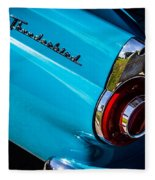 1956 Ford Thunderbird 2 Fleece Blanket