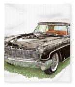 1957 Lincoln Continental Mk II Fleece Blanket