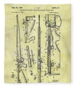 1957 Rifle Patent Fleece Blanket