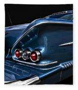 1958 Chevrolet Bel Air Impala Fleece Blanket