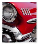 1958 Chevy Impala Fleece Blanket