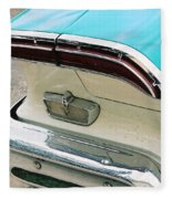 1958 Edsel Pacer Tail Light Fleece Blanket