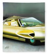1958 Ford Automobile Fleece Blanket
