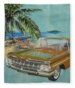 1959 Chevrolet El Camino Fleece Blanket