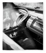 1959 Volkswagen T1 Interior Fleece Blanket