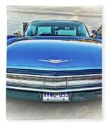 1960 Cadillac - Vignette Fleece Blanket