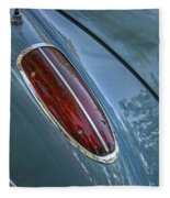 1960 Chevrolet Corvette Tail Light Fleece Blanket