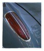 1960 Chevy Corvette Taillight Fleece Blanket