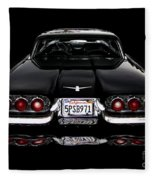 1960 Thunderbird Hardtop Coupe Fleece Blanket