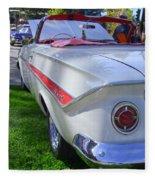 1961 Chevrolet Impala Convertible Fleece Blanket