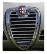 1962 Alfa Romeo Grille Fleece Blanket