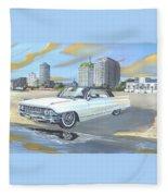 1962 Classic Cadillac Fleece Blanket