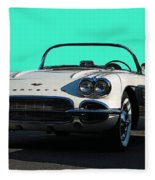 1962 Corvette Fleece Blanket