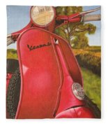 1963 Vespa 50 Fleece Blanket