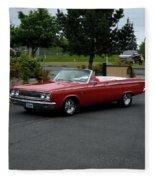 1965 Dodge Coronet 500 Higgins Fleece Blanket