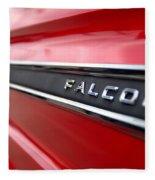 1965 Ford Falcon Name Plate Fleece Blanket