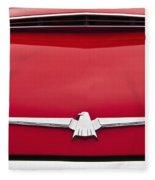 1965 Ford Thunderbird Emblem Fleece Blanket