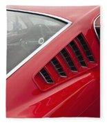 1965 Mustang Fastback Fleece Blanket