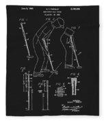 1965 Pivot Golf Putter Fleece Blanket