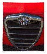 1966 Alfa Romeo Emblem Fleece Blanket