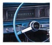 1966 Chevrolet Impala Dash Fleece Blanket