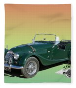 1966 Morgan 4 Plus 4 Fleece Blanket