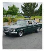 1966 Plymouth Belvedere Rapp Fleece Blanket