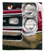 1966 Pontiac Gto Grill Fleece Blanket