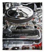 1967 Chevrolet Chevelle Ss Engine Fleece Blanket