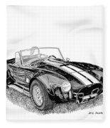 1967 Cobra Sc Fleece Blanket