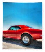 1967 S S Camaro_hdr Fleece Blanket