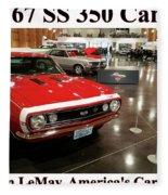 1967 Ss 350 Camaro Scharf Fleece Blanket