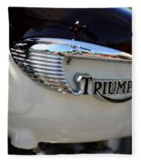 1967 Triumph Gas Tank 2 Fleece Blanket