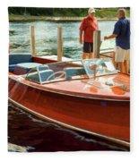 1969 Chris-craft Fleece Blanket