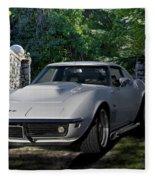 1969 Corvette Lt1 Coupe I Fleece Blanket